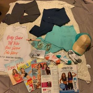 Tone It Up and Alo lot- 17 items!